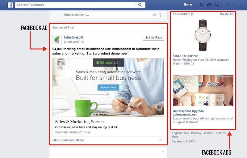 تبلیغات فیسبوک از بهترین راههای تبلیغات برای جذب مشتری