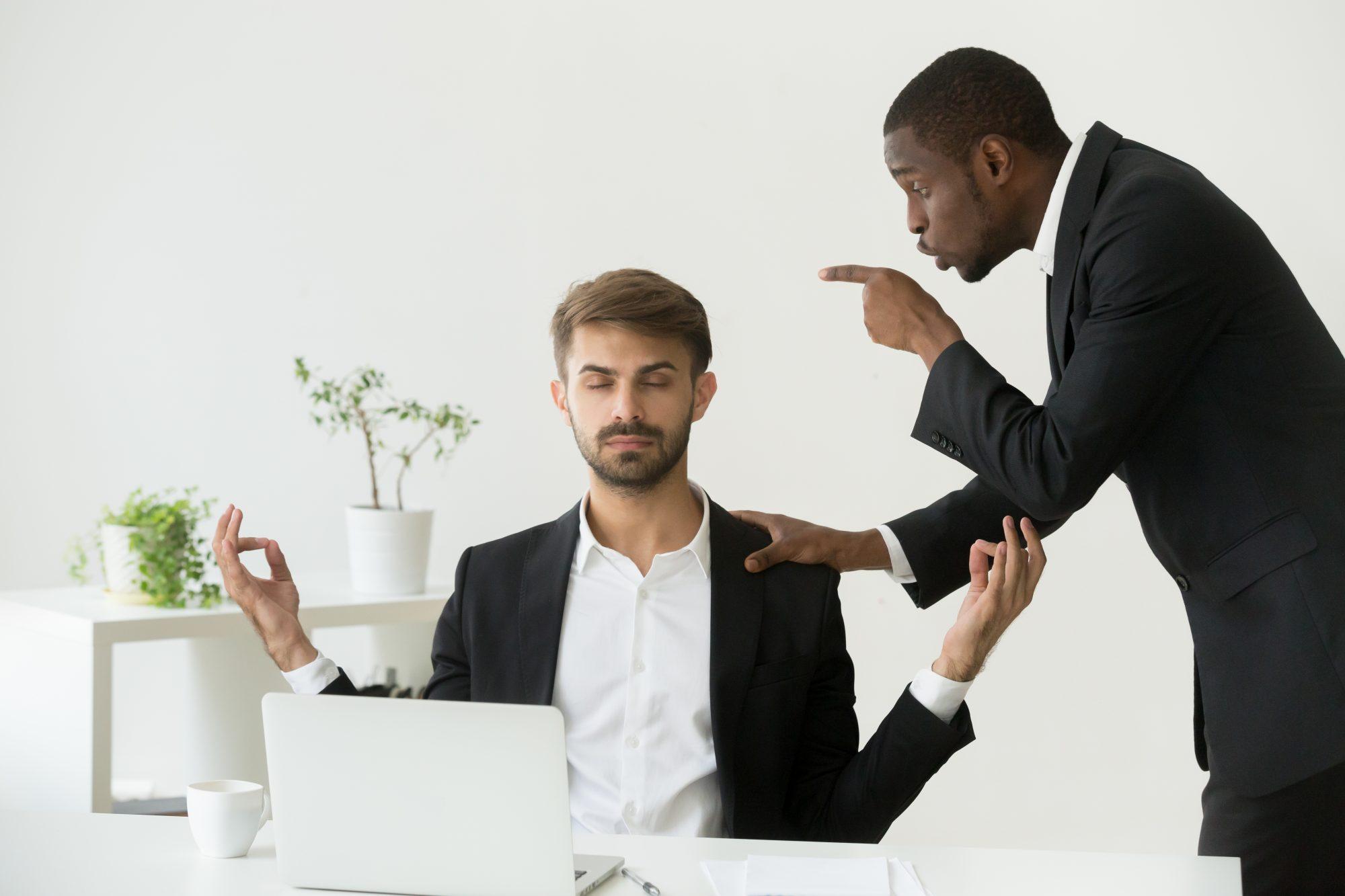 اختلاف بین مدیر و کارمند