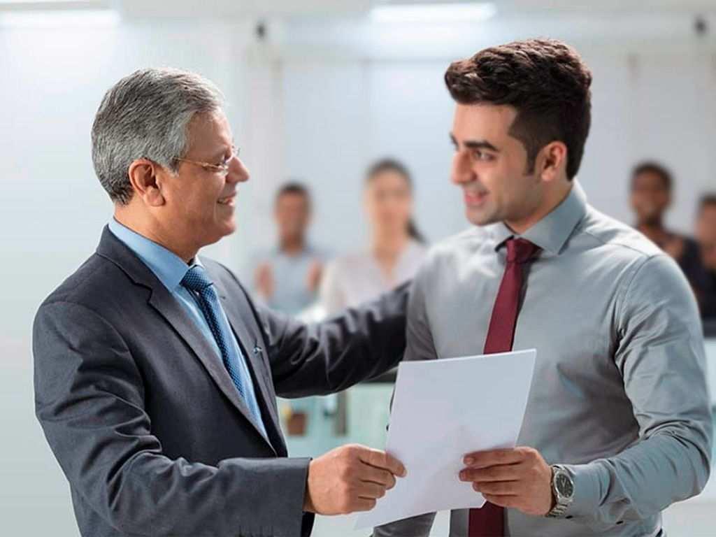 برخورد درست با کارمند