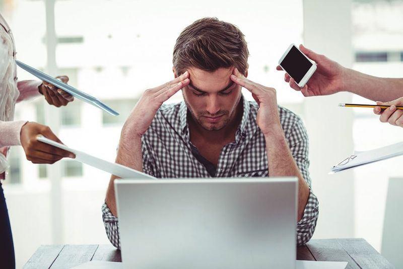 منابع استرس کاری