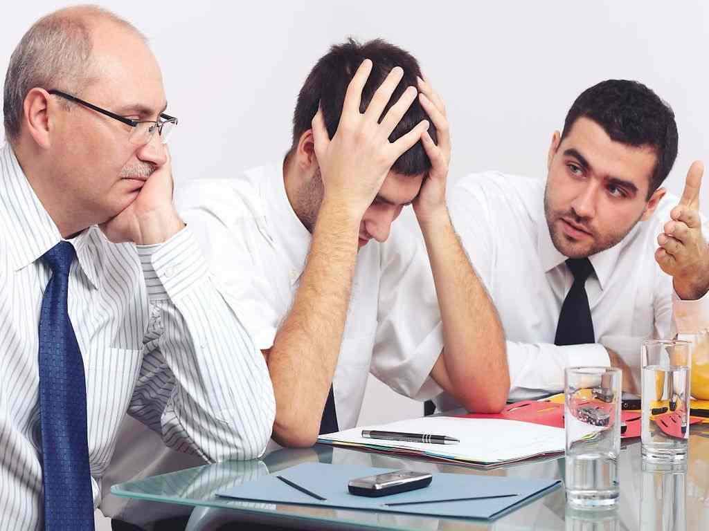 مشکلات محیط کار